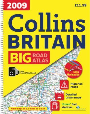 2009 Collins Big Road Atlas Britain: A3 Edition