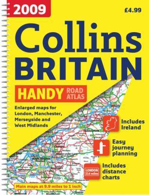 2009 Collins Handy Road Atlas Britain