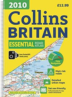 2010 Collins Essential Road Atlas Britain