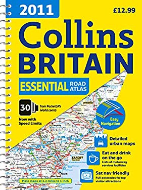 Collins Essential Road Atlas Britain