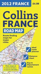 2012 Collins France Road Map 13483154