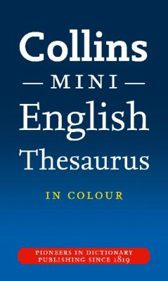 Collins Mini Thesaurus 9780007324910