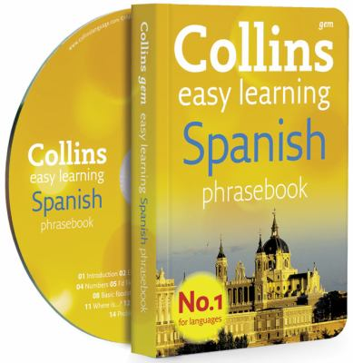 Collins Easy Learning Spanish Phrasebook [With CD (Audio)]