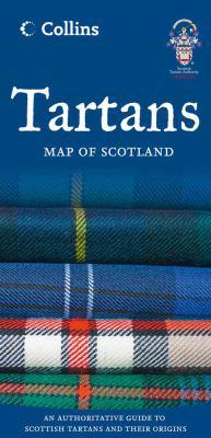 Tartans Map of Scotland