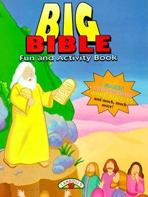 A Very Big Fun Activity Bible Book: New Testament and Old Testament to Read, Study and Color