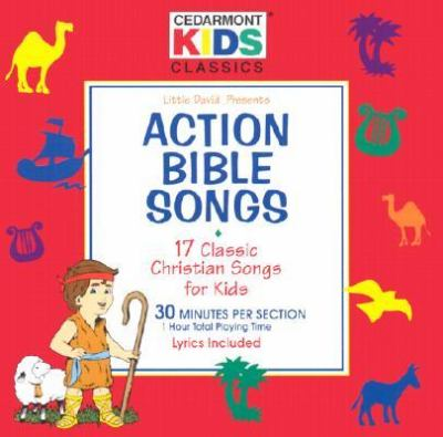 Action Bible Songs: 17 Classic Christian Songs for Kids 9780005072271