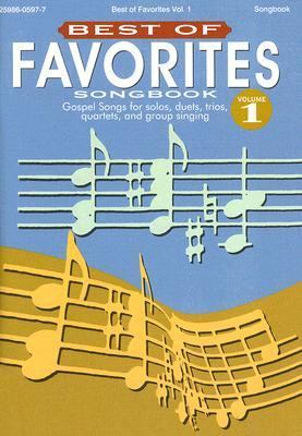 Best of Favorites Songbook, Volume 1