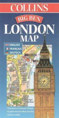 Big Ben London Map