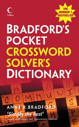 Bradford's Pocket Crossword Solver's Dictionary 9780007261093