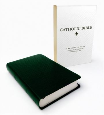 Catholic Bible: New Revised Standard Version (NRSV) Anglicised Deluxe Edition with the Grail Psalms 9780007414895