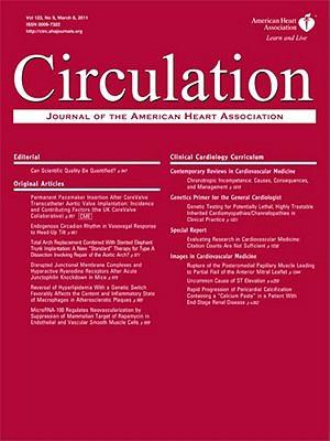 Circulation: Journal of the American Heart Association