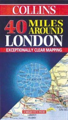 Collins 40 Miles Around London