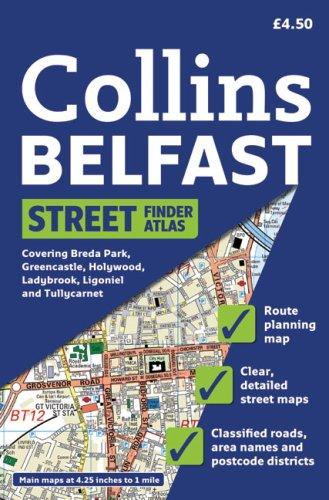Collins Belfast Streetfinder Atlas
