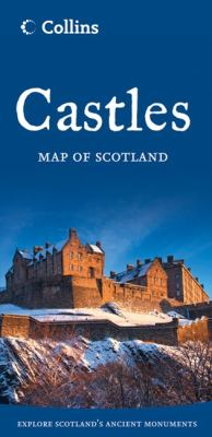 Collins Castles Map of Scotland 9780007289516
