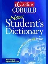 Collins Cobuild New Student's Dictionary 9780007120345