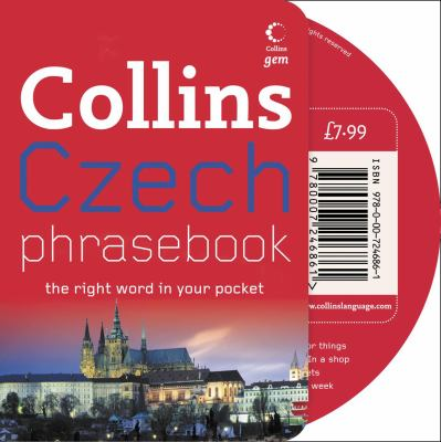 Collins Czech Phrasebook: The Right Word in Your Pocket [With CD (Audio)]