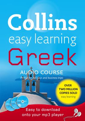Collins Easy Learning Greek [With 48 Page Colour Booklet]