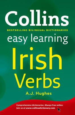 Collins Easy Learning Irish Verbs. by A.J. Hughes 9780007420773