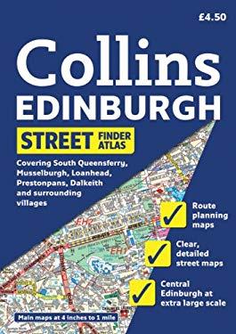 Collins Edinburgh Street Finder Atlas: A5 Edition