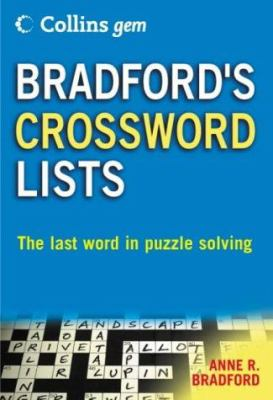 Bradford's Crossword Lists 9780007191574