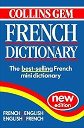 Collins Gem French Dictionary French, English English, French