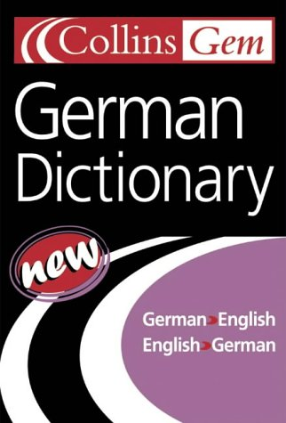 Collins Gem German Dictionary, 7e 9780007126231