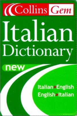 Collins Gem Italian Dictionary, 5e