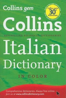 Collins Gem Italian Dictionary 9780007414116