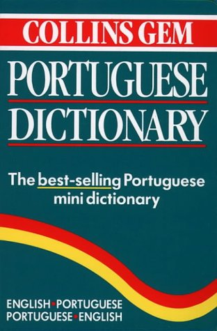 Collins Gem Portuguese Dictionary 9780004587134