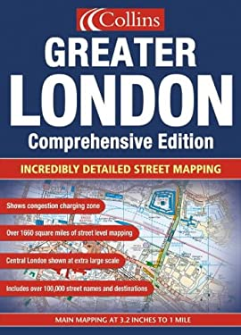 Collins Greater London: Incredibly Detailed Street Mapping