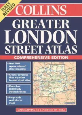 Collins Greater London Street Atlas