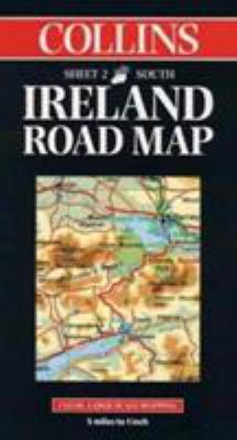Collins Ireland Road Map: Clear Large-Scale Mapping; 5 [Sic] Miles to 1 Inch