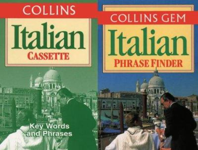 Collins Italian Phrase Finder Pack [With 60-Minute Practice Tape]