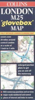 "Collins London M25 ""Glovebox"" Map"