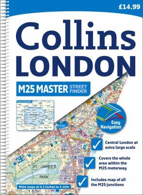 Collins London M25 Master Streetfinder