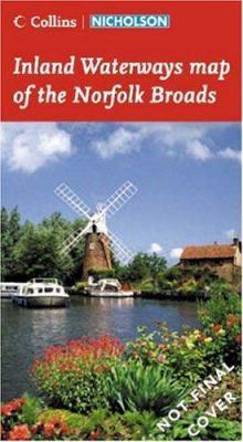 Collins Nicholson Waterways Map of the Norfolk Broads
