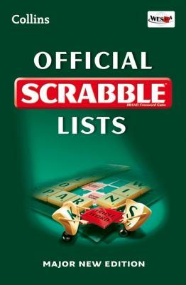 Official Scrabble Lists 9780007425631