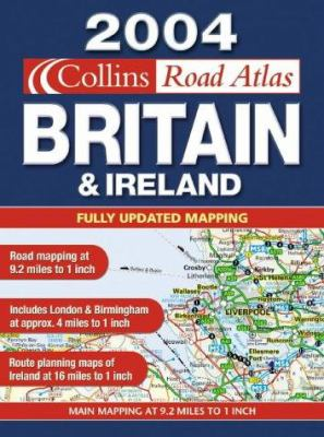Collins Road Atlas, Britain & Ireland: Fully Updated Mapping