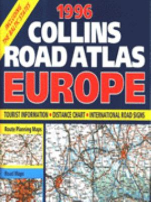 Collins Road Atlas Europe, 1996