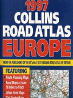 Collins Road Atlas, Europe, 1997
