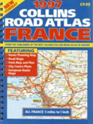 Collins Road Atlas, France, 1997 9780004485751