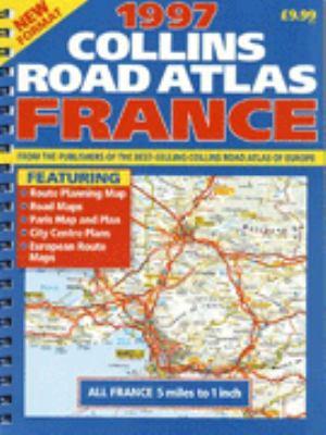 Collins Road Atlas, France, 1997 9780004485751