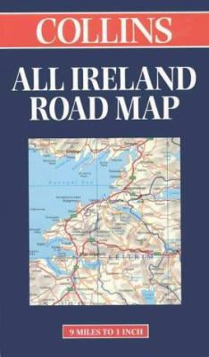 Collins Route Planning Map Ireland