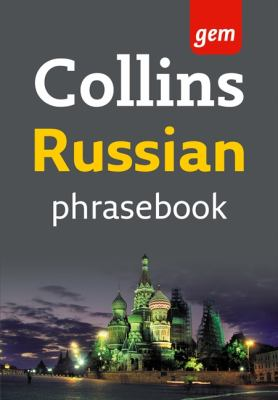 Collins Russian Phrasebook: The Right Word in Your Pocket