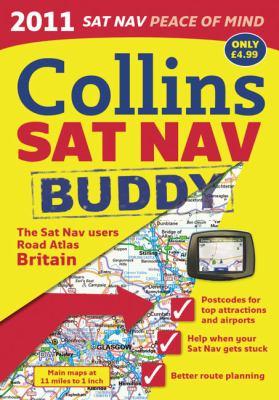 Collins SAT Nav Atlas Britain