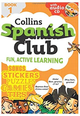 Collins Spanish Club, Book 1 [With Sticker(s) and CD (Audio)]