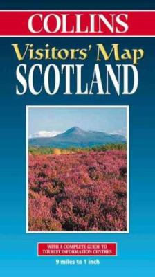 Collins Visitors' Map Scotland