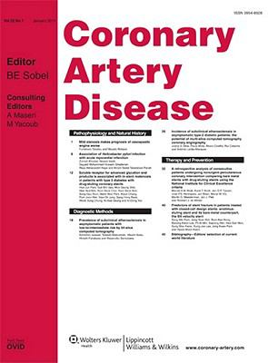 Coronary Artery Disease: A Research and Review Journal
