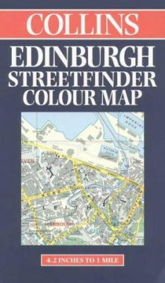 Edinburgh Street Finder Map