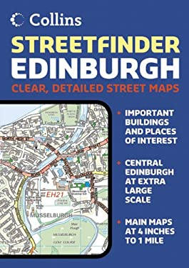 Collins Edinburgh Streetfinder: A5 Edition